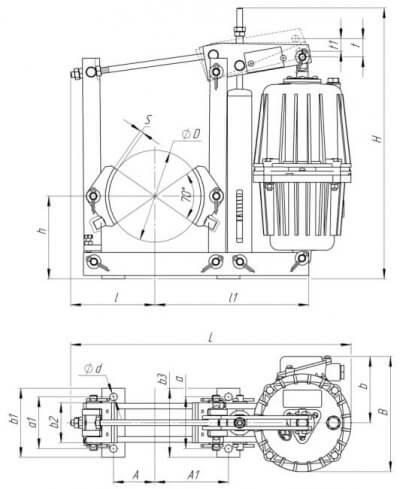 Схема тормозов ТКГ