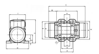 Схема для вибратора КМ 0,5/3500